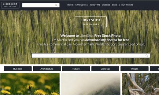 Libreshot banco de imagens grátis