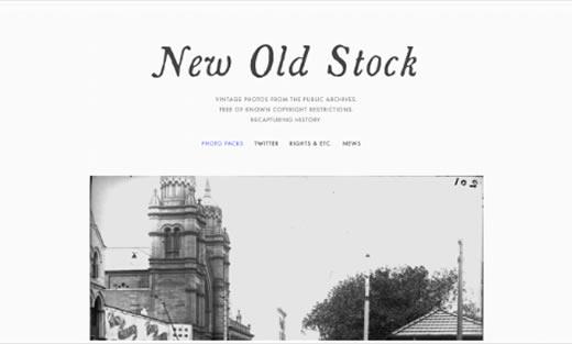 New Old Stock banco de imagens grátis