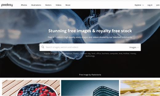 Pixabay banco de imagens grátis
