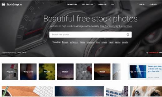 bancos de imagens gratuitos