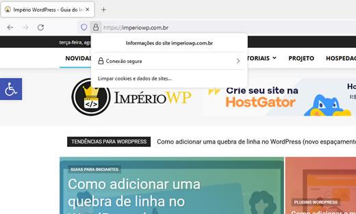 SSL em site WordPress