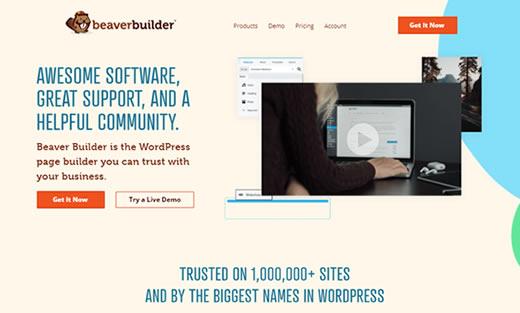 Construtor de Página Beaver Builder