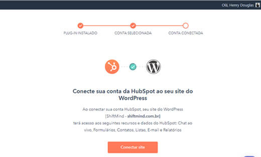 Conectar seu site WordPress ao HubSpot CRM