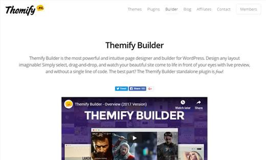 Construtor de Página Themify Builder